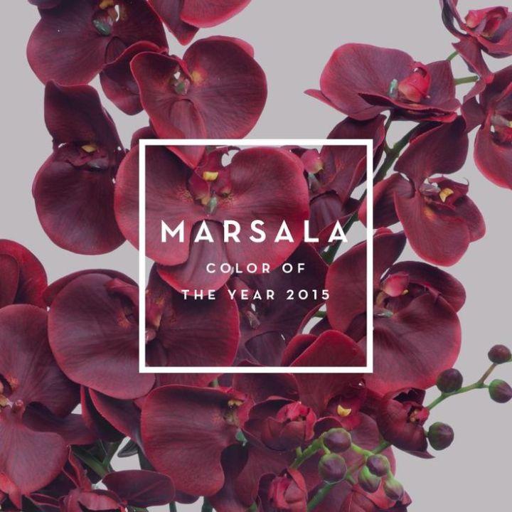 5 looks en Marsala que vas aamar!